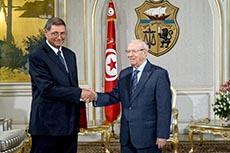 Nomination de Habib Essid