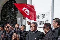Manifestation des avocats
