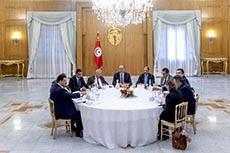 Réunion Fakhkakh et partis politiques