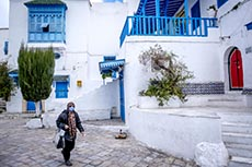 Sidi Bou SaId sous confinement