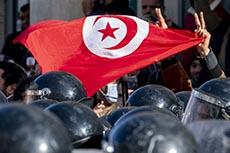 Manifestation devant l'ARP