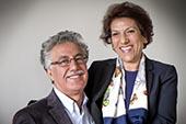 Radhia Nasraoui et Hamma Hammami